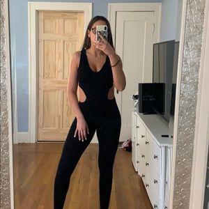 Dresses & Skirts - Black cut out jumpsuit